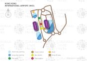 Hong Kong International Airport map