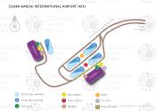 Osaka Kansai International Airport map