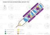 Taiwan Taoyuan International Airport map