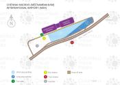 Chennai International Airport map