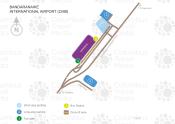 Bandaranaike International Airport map