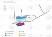 Hat Yai International Airport map