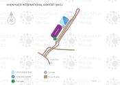 Khon Kaen Airport map