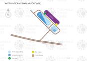 Vientiane International Airport (Wattay) map