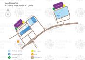 Xiamen Gaoqi International Airport map